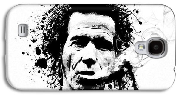 Keith Richards Galaxy S4 Cases - Gimme Shelter Galaxy S4 Case by Laurence Adamson