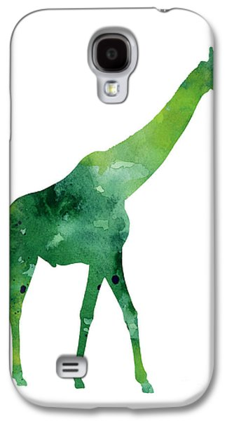 Giraffe African Animals Gift Idea Galaxy S4 Case by Joanna Szmerdt