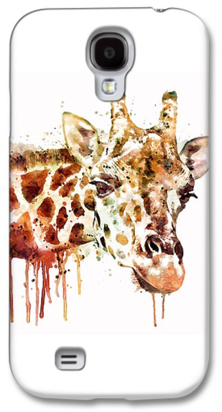 Giraffe Head Galaxy S4 Case by Marian Voicu