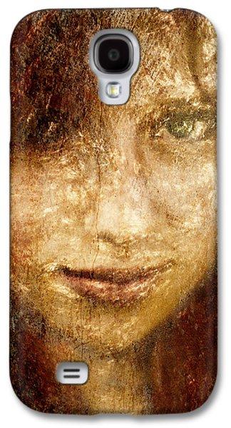 Girl In A Window Galaxy S4 Case by Jeff  Gettis