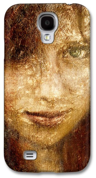 Youthful Galaxy S4 Cases - Girl In A Window Galaxy S4 Case by Jeff  Gettis