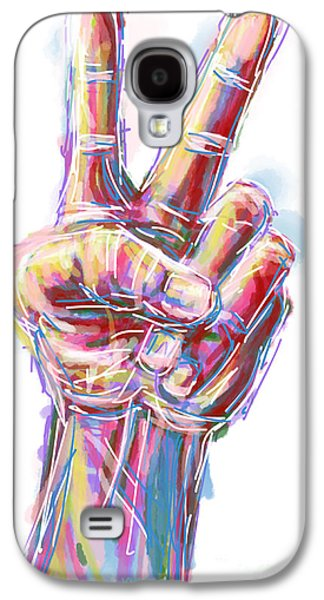 Give Peace A Chance Galaxy S4 Case by Robert Yaeger