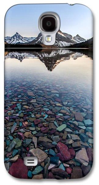 Glacier Skittles Galaxy S4 Case by Aaron Aldrich