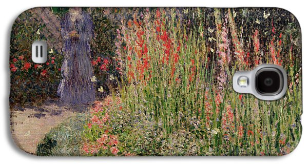 Gladioli Galaxy S4 Case by Claude Monet