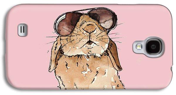 Glamorous Rabbit Galaxy S4 Case by Katrina Davis