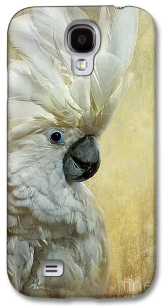 Playful Digital Galaxy S4 Cases - Glamour Girl Galaxy S4 Case by Lois Bryan