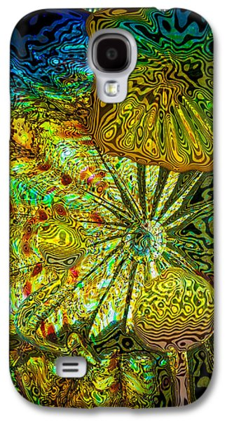 Recently Sold -  - Abstract Digital Digital Art Galaxy S4 Cases - Glass Abstract 1 Galaxy S4 Case by David Patterson