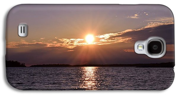 Sun Galaxy S4 Cases - Glorious Sunset Galaxy S4 Case by Sharon Patterson
