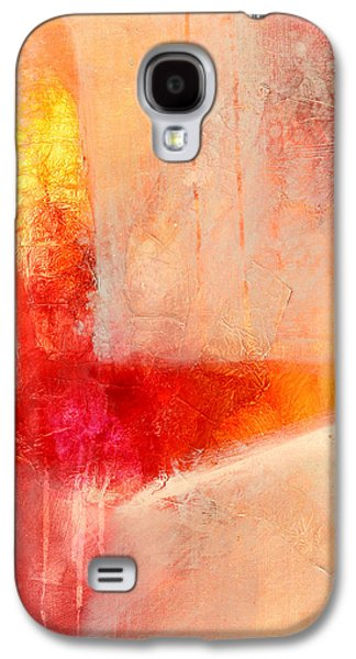 Glow 2 Abstract Art Galaxy S4 Case by Nancy Merkle