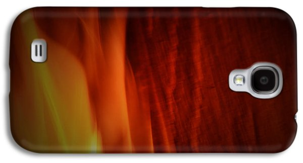 Digital Galaxy S4 Cases - Glow of the Flame Galaxy S4 Case by Richard Andrews