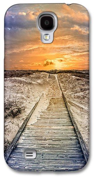 Sanddunes Galaxy S4 Cases - Glow on the Dunes Galaxy S4 Case by Debra and Dave Vanderlaan