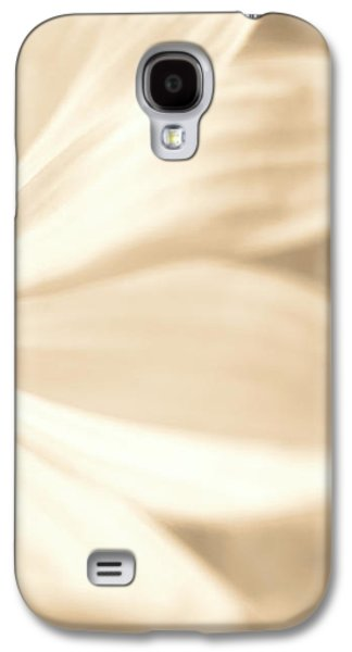 Glowing Flower, Sepia Galaxy S4 Case by Nat Air Craft