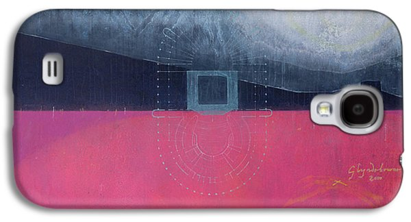 Plans Paintings Galaxy S4 Cases - Glyndebourne Galaxy S4 Case by Charlie Millar