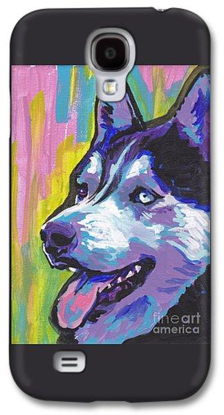 Husky Galaxy S4 Cases - Go Husky Galaxy S4 Case by Lea