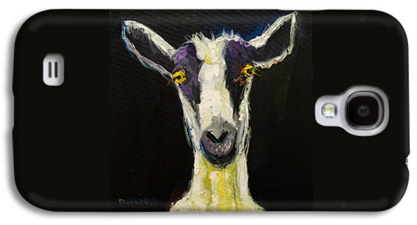 Wall Galaxy S4 Cases - Goat Gloat Galaxy S4 Case by Diane Whitehead
