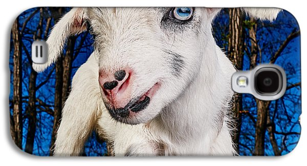 Goat High Fashion Runway Galaxy S4 Case by TC Morgan