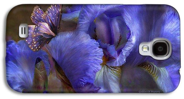 Goddess Of Mystery Galaxy S4 Case by Carol Cavalaris