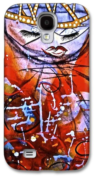 Goddess Of Passion Galaxy S4 Case by Tetka Rhu