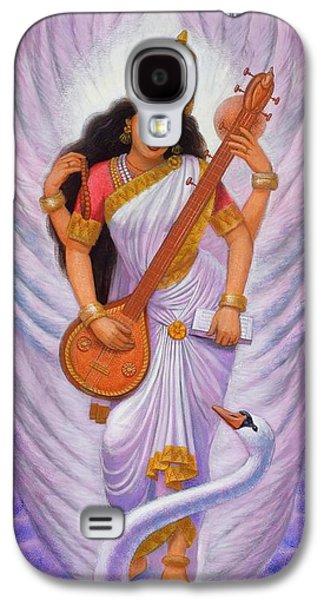 Goddess Saraswati Galaxy S4 Case by Sue Halstenberg