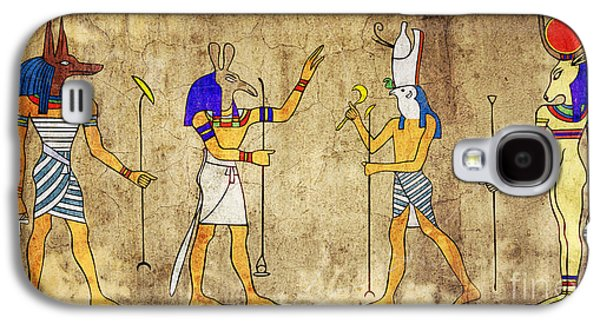 Gods Of Ancient Egypt Galaxy S4 Case by Michal Boubin