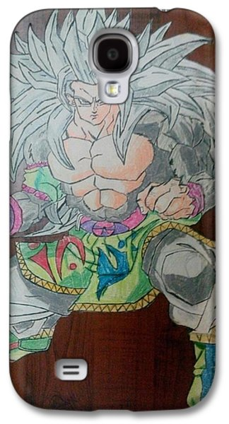 Animation Pastels Galaxy S4 Cases - GOKU Dragon Ball Z Galaxy S4 Case by Shubham Gupta