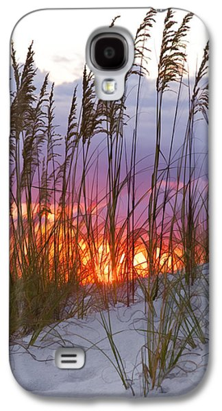 Golden Amber Galaxy S4 Case by Janet Fikar