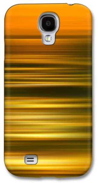 Beach Photography Galaxy S4 Cases - Golden Aqua Bumps Galaxy S4 Case by Az Jackson
