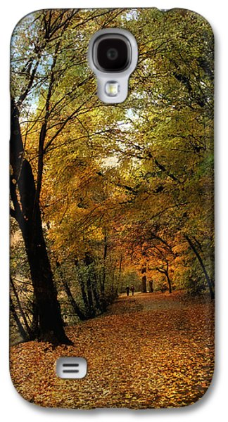 Autumn Foliage Photographs Galaxy S4 Cases - Golden Carpet Galaxy S4 Case by Jessica Jenney
