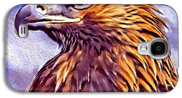 All In The Family Galaxy S4 Cases - Golden Eagle Portrait Galaxy S4 Case by Scott Wallace