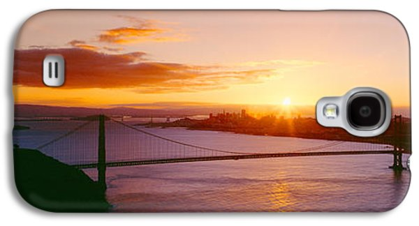 Technological Photographs Galaxy S4 Cases - Golden Gate & San Francisco From Marin Galaxy S4 Case by Panoramic Images