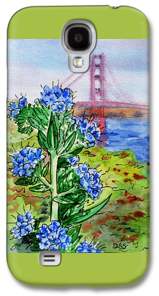 Sell Paintings Galaxy S4 Cases - Golden Gate Bridge San Francisco Galaxy S4 Case by Irina Sztukowski