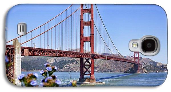 Kelley King Galaxy S4 Cases - Golden Gate Galaxy S4 Case by Kelley King