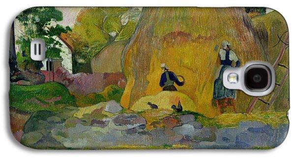 Golden Harvest Galaxy S4 Case by Paul Gauguin
