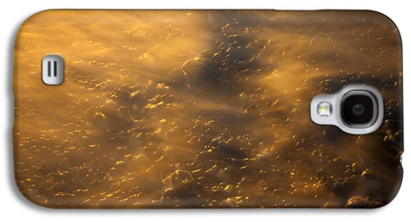 Spit Galaxy S4 Cases - Golden Light Galaxy S4 Case by Mike  Dawson