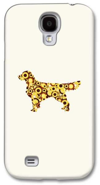 Golden Retriever - Animal Art Galaxy S4 Case by Anastasiya Malakhova