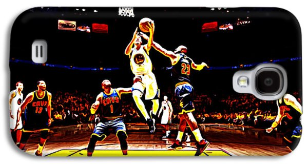 Golden State Warriors Shaun Livingston Galaxy S4 Case by Brian Reaves