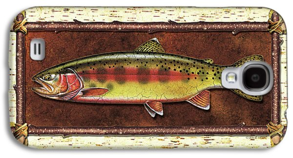 Golden Trout Lodge Galaxy S4 Case by JQ Licensing