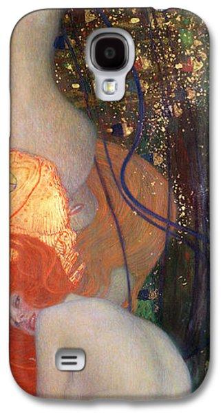 Goldfish Galaxy S4 Case by Gustav Klimt
