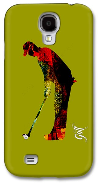 Golf Collection Galaxy S4 Case by Marvin Blaine