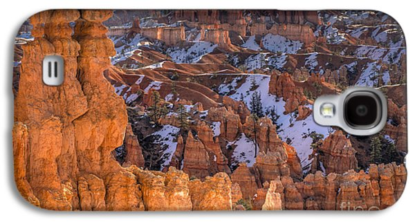 Landscapes Photographs Galaxy S4 Cases - Good Morning Bryce Galaxy S4 Case by Jennifer Magallon