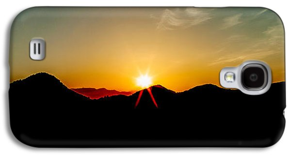 Sun Galaxy S4 Cases - Good Morning Sunshine Galaxy S4 Case by Az Jackson