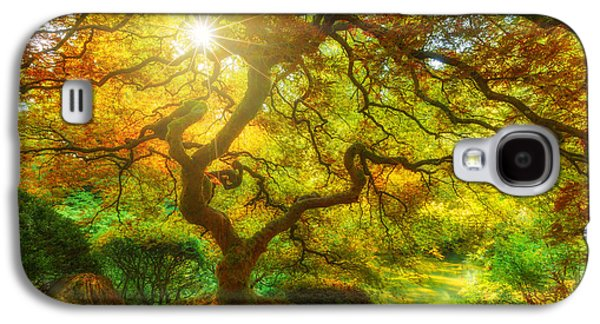 Landscape Acrylic Prints Galaxy S4 Cases - Good Morning Sunshine Galaxy S4 Case by Darren  White