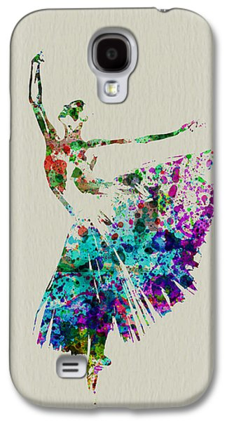 Entertainment Galaxy S4 Cases - Gorgeous Ballerina Galaxy S4 Case by Naxart Studio