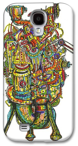 Etc. Drawings Galaxy S4 Cases - Got A Light Galaxy S4 Case by Robert Cawein