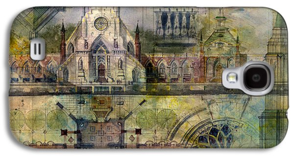 Gothic Paintings Galaxy S4 Cases - Gothic Galaxy S4 Case by Andrew King