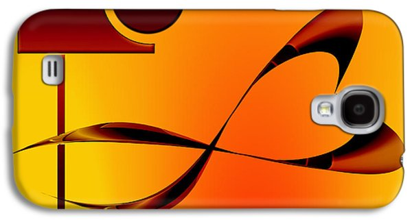 Abstract Movement Galaxy S4 Cases - Grace 1 Galaxy S4 Case by Peter Leech