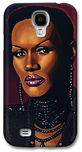Grace Jones Galaxy S4 Case by Paul Meijering