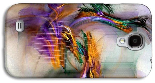 Graffiti - Fractal Art Galaxy S4 Case by NirvanaBlues