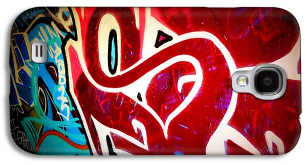 Splashy Art Galaxy S4 Cases - Graffiti Art 52 Galaxy S4 Case by Cindy Nunn