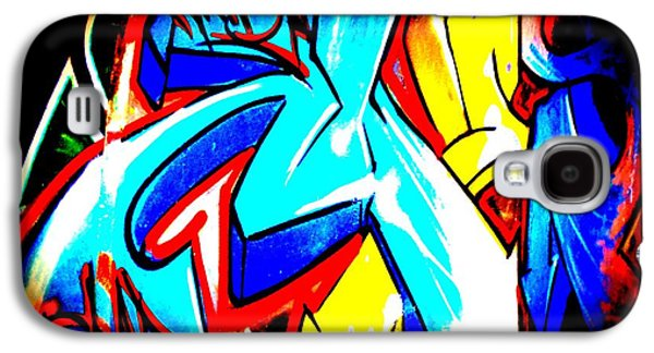 Splashy Art Galaxy S4 Cases - Graffiti Art 54 Galaxy S4 Case by Cindy Nunn